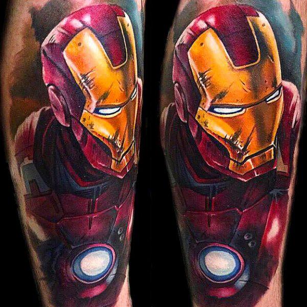 top 10 super hero tattoos tattooties